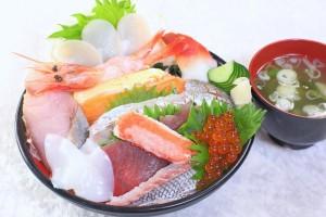 海の宝石丼 ¥1,620