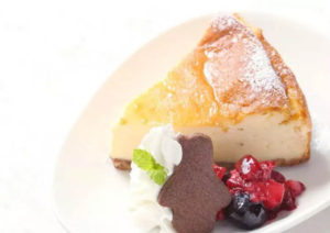 ベイクドチーズケーキ500円